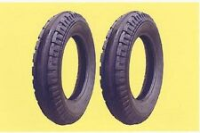 Two 4.00-12 4.00x12 400x12 Farmall Cub, Original Front Tractor Tires & Tubes