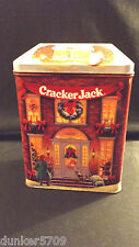 CRACKER JACK 1995 HOLIDAY VILLAGE LIMITED EDITION TIN FIRST IN SERIES