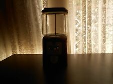 Vintage Acorn Nut Dispenser Machine. Metal and glass,