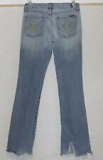 Women's 7 SEVEN FOR ALL MANKIND Yellow A POCKET JEANS size 29 32