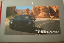 New Ferrari 599 GTB Fiorano Hardback Brochure