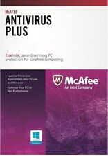 McAfee Antivirus Plus Key Card 1PC 1 Year for Digital Download Brand New