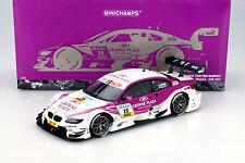 A. Priaulx BMW M3 DTM #15 DTM 2012 BMW Team RBM 1:18 Minichamps