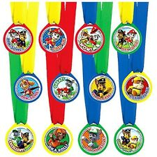Paw Patrol Birthday Party Award Medals 12 Pcs