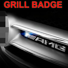 High Quality AMG 1x Badge Sticker Front Bumper Grill Chrome Emblem for Mercedes