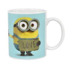 Bob Amor signo Minions taza de café de cerámica taza de té Despicable Me película kigs Regalo