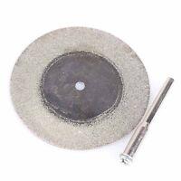 50mm Diamond Cutting Discs & Drill Bit For Rotary Tool Dremel Glass Metal 10pcs