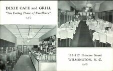 Wilmington NC Dixie Caf' & Grill Postcard