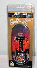 Vtg '96 Star Trek 30th Anniversary Barbie and Ken Wrist Watch by Mattel Sealed