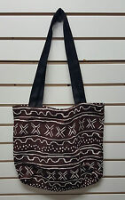 African Woven Mud cloth Tapestry Tote Bag/African American/Black Americana