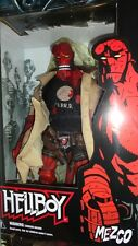 "MEZCO HELLBOY FROM THE COMIC BOOKS 18""INCH ACTION FIGURE DAMAGED VERSION RARE !!"