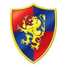 """Medieval Crest Cutout - 16"""" Tall - Shield Party Decoration - Knight"""