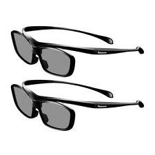 2 Stück original Panasonic 3D Brillen TY-EB3D10 neu, für Panasonic TV