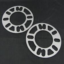 """(2) 1/8"""" inch Wheel Spacers 4x114.3 4x4.5 Flat Spacer 