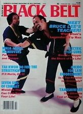RARE 2/86 BLACK BELT LEUNG TING  BRUCE LEE  YIP MAN  KARATE KUNG FU MARTIAL ARTS