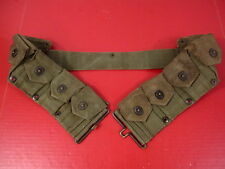 post-WWII USMC Dismounted M1923 Ammunition Cartridge Belt - M1 Garand - RARE