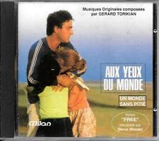 CD BOF/OST 21 TITRES--AUX YEUX DU MONDE & UN MONDE SANS PITIE--GERARD TORIKIAN