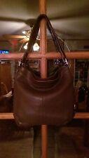 Coach Brown Leather Convertable Shoulder bag,  Hobo (15064)