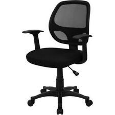 Computer Chairs With Arms Best Small Computer Desk Business Lightweight Black