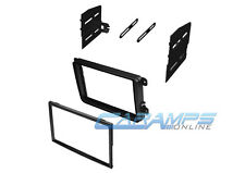VW CAR STEREO DVD RADIO DOUBLE 2 DIN RADIO DASH INSTALLATION MOUNTING TRIM KIT
