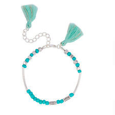 "Sexy Sparkles Women and girls Morse Code "" SISTER "" Bracelet with Tassel"