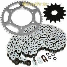 WHITE O-Ring Drive Chain & Sprocket Kit Fits SUZUKI GSX-R600 GSXR600 1998-2000