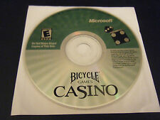 Bicycle Games Casino (PC, 2001) - Disc Only!!!