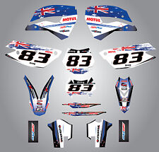 Husaberg FE 390,450,570,TE 250,300,FX 450,FS 570 09-12 Sticker kit Aussie pride