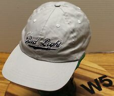 BUD LIGHT OFFICIAL PRODUCT HAT LIGHT GRAY ADJUSTABLE IN VERY GOOD CONDITION