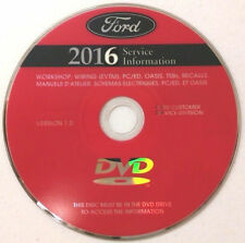 2016 Ford F250 F350 F450 F550 Factory Service Repair Workshop Manual DVD 94716