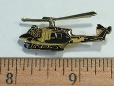 UH-1 Huey Helicopter Vintage Pin Badge (large)