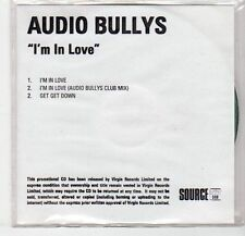 (EF267) Audio Bullys, I'm In Love - DJ CD