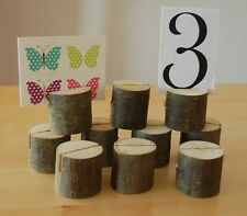 Wooden Holders,Wedding Table Place Name/Menu/Photo/Shops/Market stalls Etc, X 40