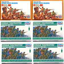 ESCI ERTL 1/72 scale World War Two German Infantry Bundle - 6 mint boxed sets