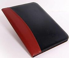 Business Portfolio Leather Binder: Executive Padfolio and Planner With Built ...