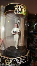 STAR WARS PRINCESS LEIA EPIC FORCE FIGURE MINT IN ACRYLIC TUBE HOLDER