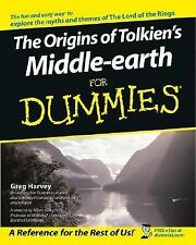 The Origins of Tolkien's Middle-earth For Dummies Greg Harvey Paperback