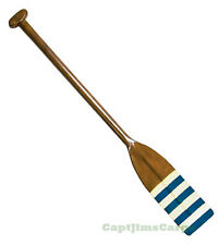 "Royal Barge Oar #4 Nautical Decorative Wooden Rowing Boat Oars Decor 46"" New"