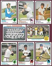 1973 Topps 6/$1. You Pick #s 3 4 5 14 15 17...318 327 328 336 351 361 371 376