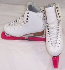 Jackson Ice Figure Skates,John Wilson Comet,Girls Size 3.5 D,Guards