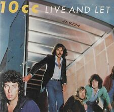 10CC - 'Live And Let Live' US Mercury 2LP G/F. Ex!