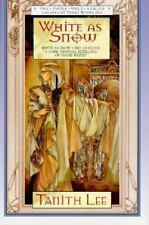 White As Snow by Tanith Lee  - Fantasy - Hardcover