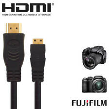 Fujifilm finepix x20, S9200, x100s hdmi mini tv 2.5 M Fil Cordon gold câble plomb
