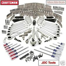 Craftsman 365 pc Mechanics Tool Set w Polished Ratchet Wrenches 334 311 309 NEW