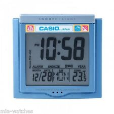 Casio DQ-750F-2D Digital Alarm Clock - Thermometer Snooze Calendar DQ-750 NEW