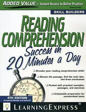 Skill Builders in 20 Minutes a Day: Reading Comprehension Success in 20...