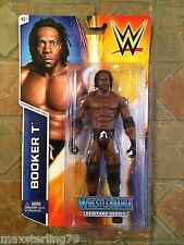 Mattel WWE BOOKER T figure Wrestemania X-8 18 Heritage Series 2015 Flashback