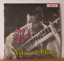 The Genius of Vilayat Khan LP 1966 Odeon MOAE 109 Sitar Ragas India