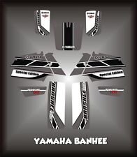 YAMAHA BANSHEE 350SEMI CUSTOM GRAPHICS KIT SPECIALSILVER
