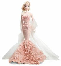 Barbie Fashion Model Mermaid Gown Sirène Gold Label Silkstone NRFB X8254